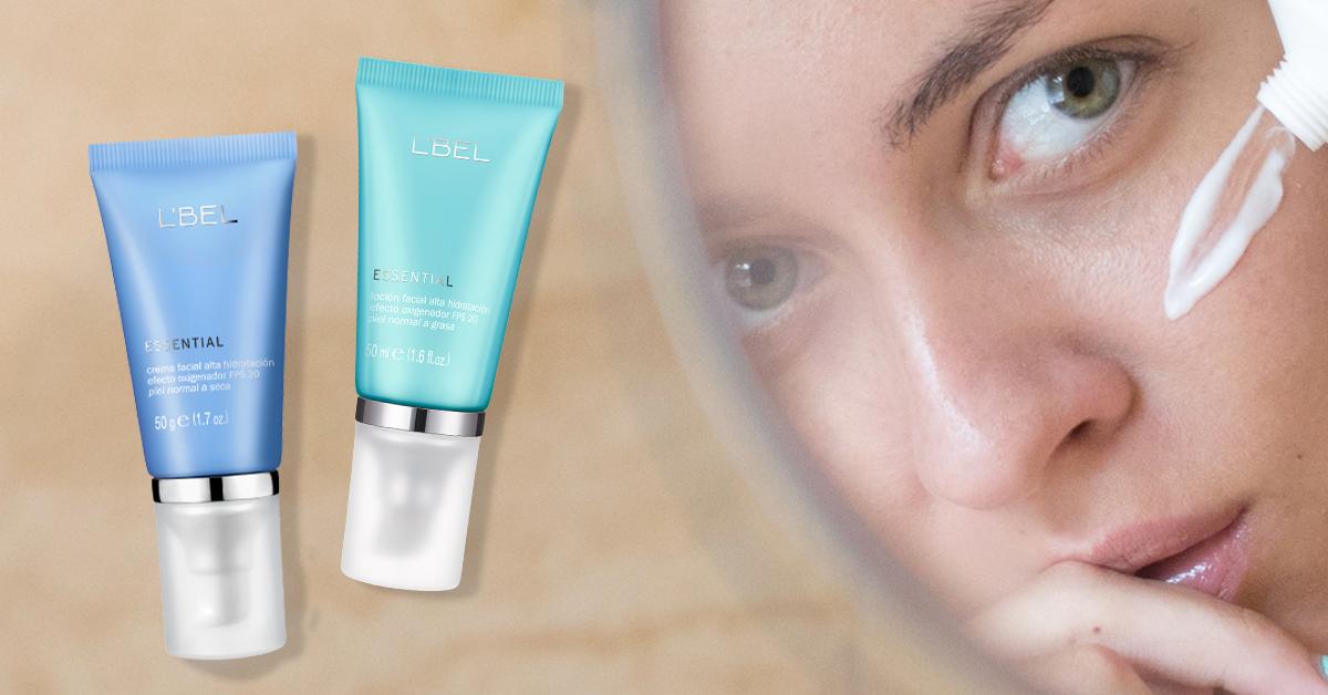 Hidratación facial profunda con un solo producto