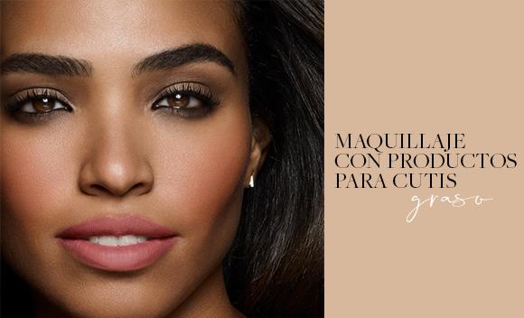 Productos de maquillaje para piel grasa